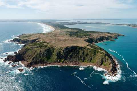 Phillip Island Coastal Snapshot Helicopter Flight