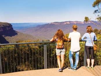 Ab Sydney: Blue Mountains, Zoobesuch und Bootsfahrt