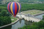 From Chenonceau: Hot Air Balloon Ride above the Loire Valley