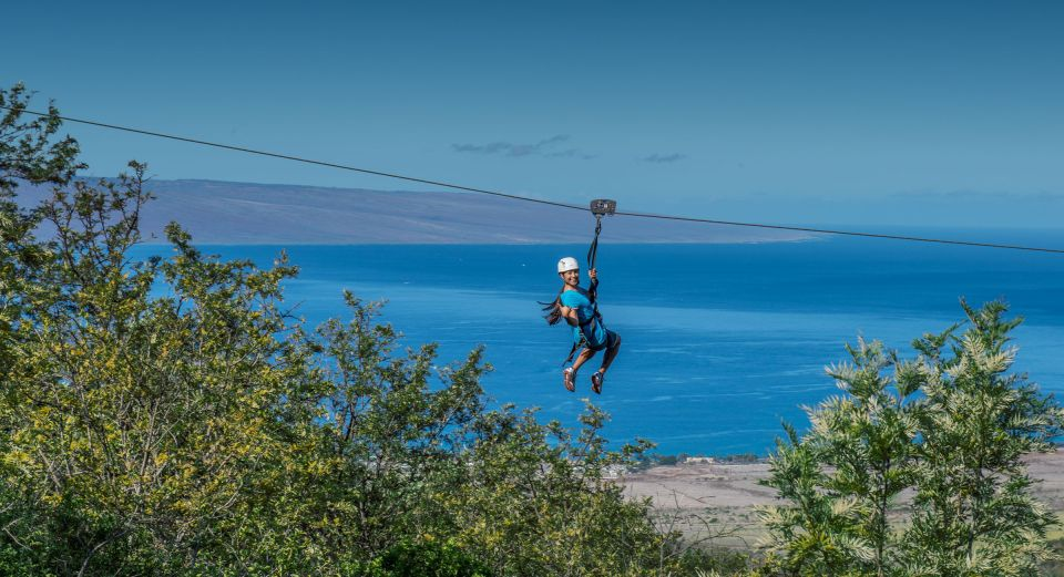 Maui: Ka'anapali 8 Line Zipline Adventure