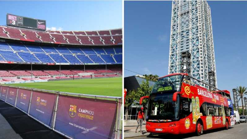barcelona hop on hop off f c barcelona camp nou tour barcelona spain getyourguide barcelona hop on hop off f c barcelona camp nou tour