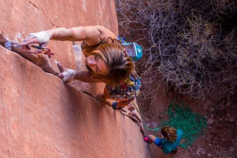 Half-Day Rock Climbing Adventure in Moab