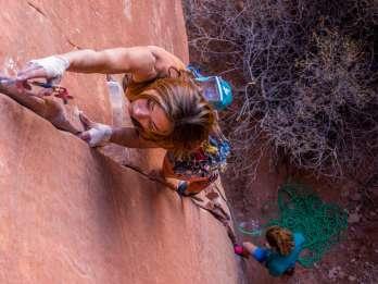 Halbtägiges Kletterabenteuer in Moab