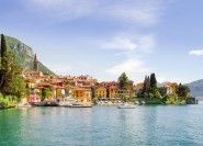 Ab Mailand: Tagestour Comer See mit Bellagio & Lugano