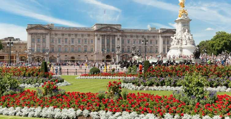 Buckingham Palace, wisseling van de wacht & Engelse tee