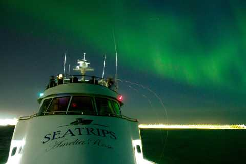 Reykjavik: Northern Lights Luxury Yacht Tour