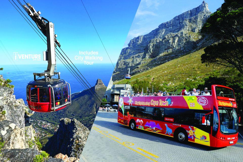 Bilet łączony: kolejka linowa na Górę Stołową + Autobus Hop-on Hop-off