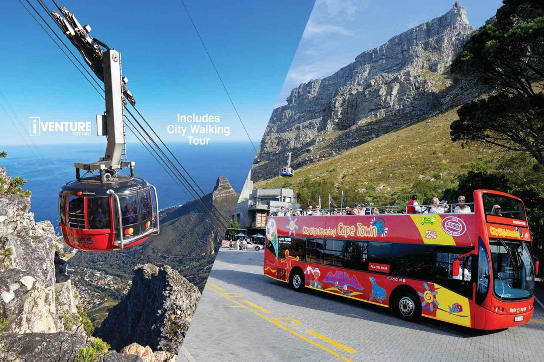 Tafelberg-Luftseilbahn und Hop-On/Hop-Off-Busticket