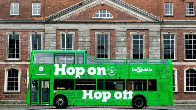 Tour con autobús turístico en Dublín