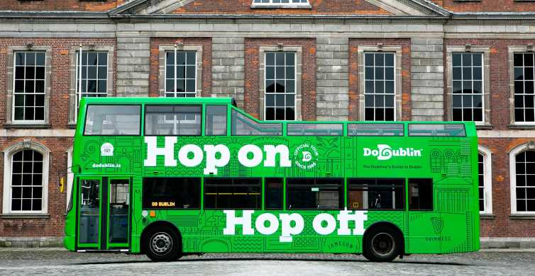 Дублин: тур на hop-on hop-off автобусе DoDublin