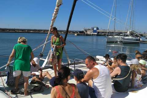Catamarán Salou and Hermitage Hills Tour
