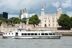 Londres: Cruzeiro Rio Tâmisa de Westminster a Greenwich