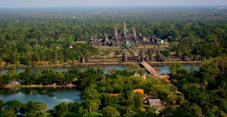 Angkor: visite en groupe, ballon captif et déjeuner