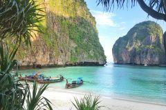 De Phuket ou Khao Lak: excursão matutina pelas ilhas Phi Phi