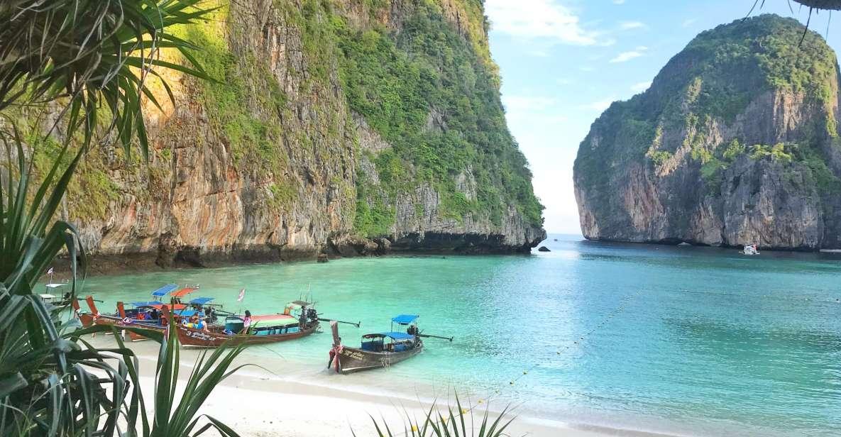 Depuis Phuket et Khao Lak: excursion vers les îles Phi Phi