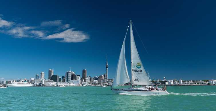 Auckland Harbour 1.5-Hour Sailing Cruise