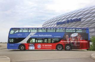 München: Grand Hop-On-Hop-Off Doppeldecker Bus Tour