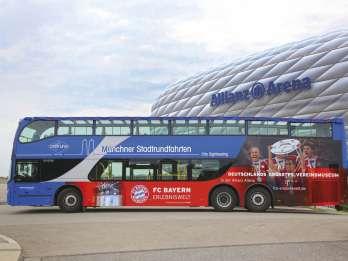 München: Hop-On-Hop-Off-Tour mit Doppeldecker-Bus