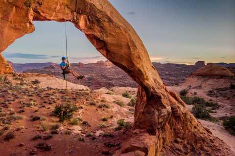 Moab Full-Day Rock Climbing Experience
