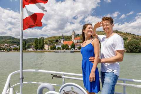 From Krems: Wachau Valley River Cruise with 3-Course Meal