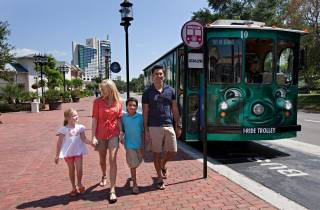International Drive: Trolley-Pass mit unbegrenzten Fahrten