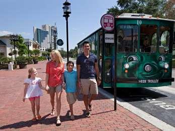 International Drive: I-Ride Trolley mit unbegrenzten Fahrten