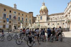 Palermo: Excursão de bicicleta pela cidade velha