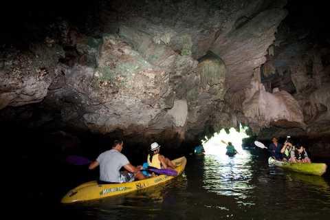 Krabi: Kayaking at Bor Thor with Optional ATV Ride