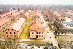 De Cracóvia: Visita Autoguiada a Auschwitz-Birkenau