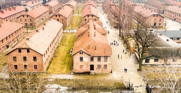 Depuis Cracovie: visite auto-guidée à Auschwitz-Birkenau