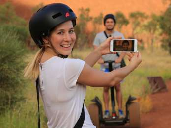 Uluru: Segway-Tour am Ayers Rock