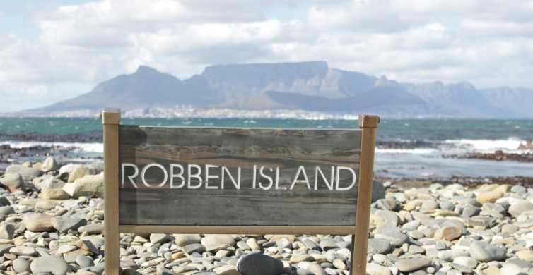Isla Robben: billetes en ferri y tour con recogida en hotel