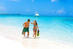 Bahamas: Excursão de 1 Dia a Sandy Toes, Ilha Rose