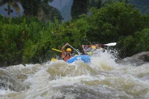 San Jose: Full-Day Rafting and High Ropes Combo Tour