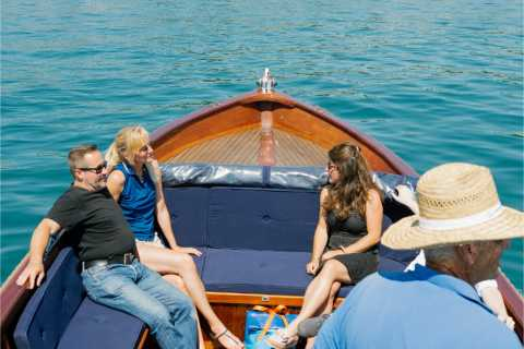 Lake Zurich 1-Hour Private Guided Boat Tour