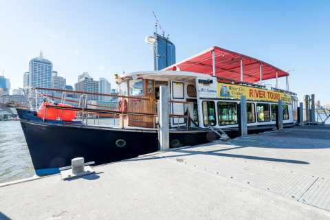 Brisbane: Sightseeing River Cruise with Morning Tea