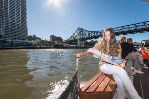Brisbane: Elvecruise med sightseeing og morgente