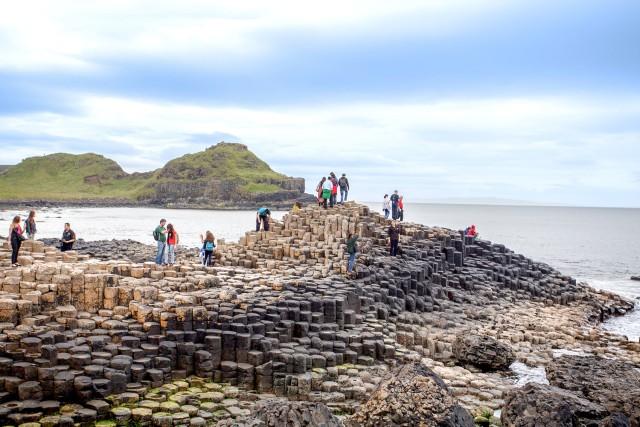 Vanuit Dublin: excursie naar Giant's Causeway & Belfast