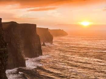 Ab Dublin: Cliffs of Moher, Burren & Galway – Tagestour