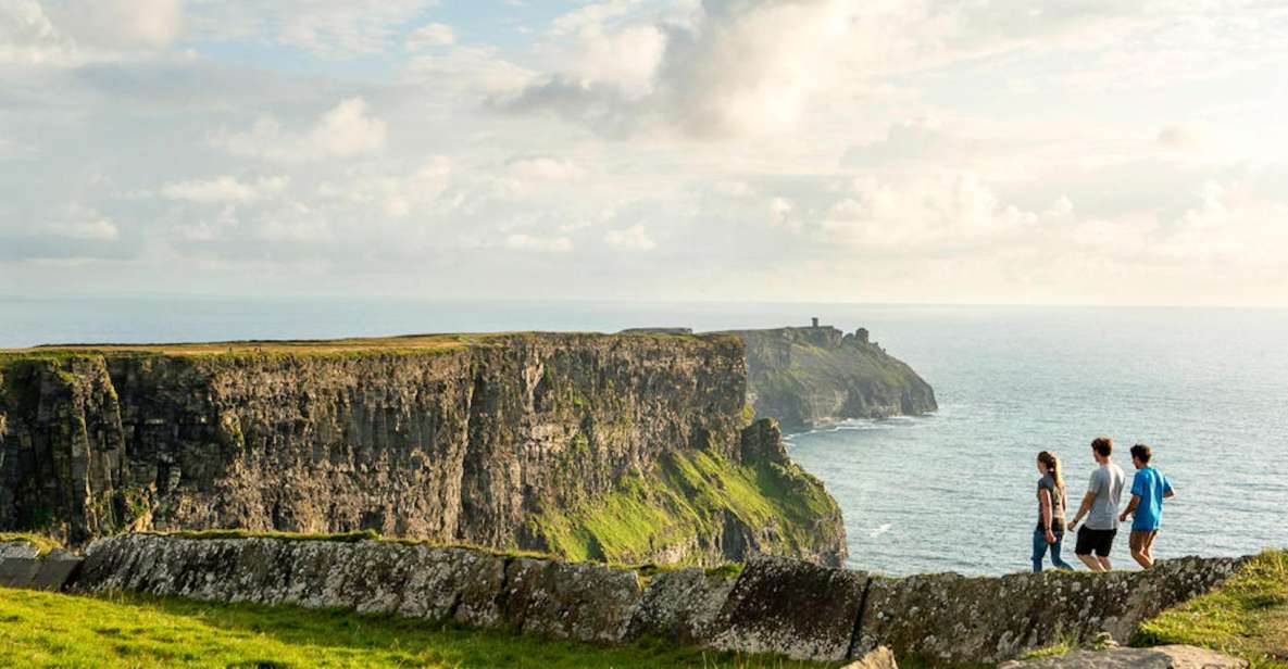 Dublin: Cliffs of Moher, Kilmacduagh Abbey & Galway Day Tour