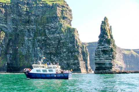 Isole Aran e scogliere di Moher: tour con crociera da Galway