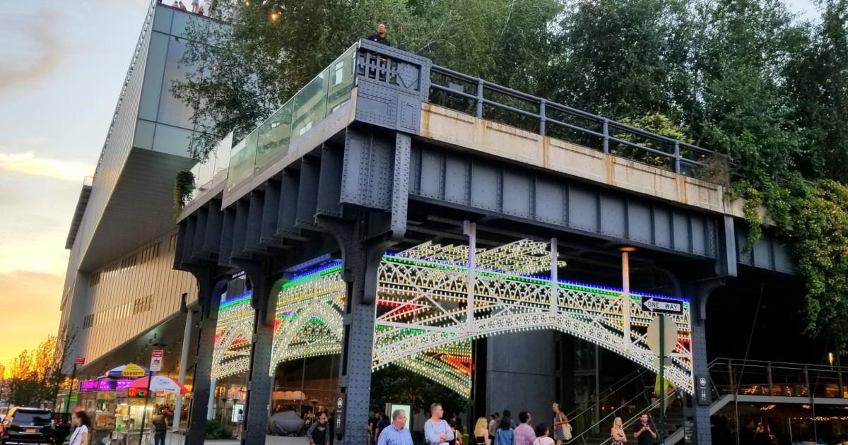 new york: secrets of high line park walking tour