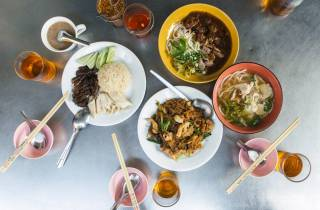 Bangkok: 4-stündige Food-Tour mit Klong-Bootsfahrt