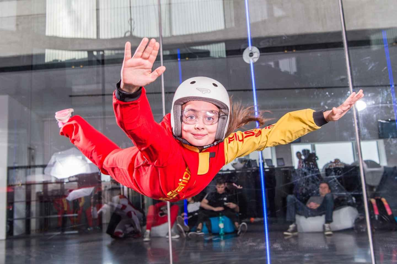 München: Bodyflying Erlebnis im Windtunnel