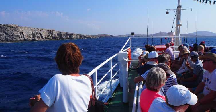 From Mykonos: Transfer to Delos Island by Boat