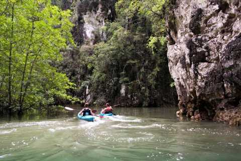 Krabi: Full-Day Sea Kayaking in Baan Bor Thor
