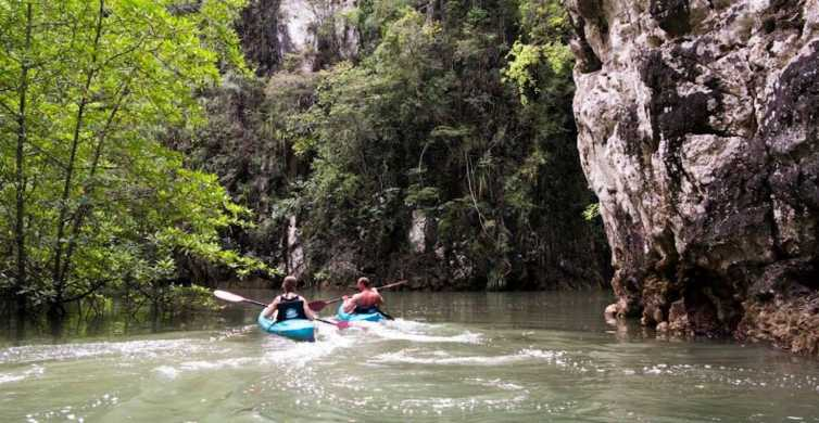 Krabi: Full-Day Sea Kayaking in Baan Bor Thor