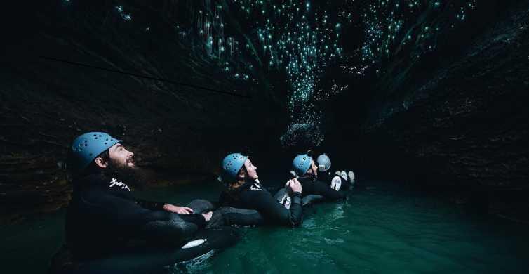 Waitomo Caves Black Labyrinth Black Water Rafting Experience