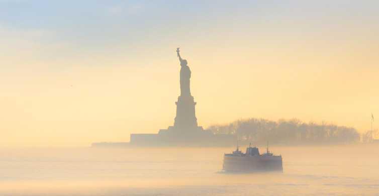 Manhattan: Statua i Skyline Cruise na pokładzie luksusowego jachtu