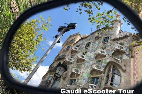 Barcelona: Gaudí-Tour per E-Scooter